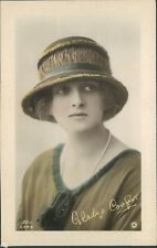 Postcard Actress Miss Gladys Cooper Embossed Rotary Photo Card With Message