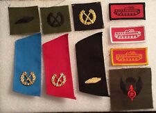 ARMY OPPOSING FORCES OPFOR, INSIGNIA SET NUMBER 1, 11 ARMOR CAVALRY you get all