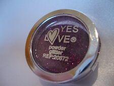 Yes Love Fines Paillettes Libres 12 Violet Visage Corps Cheveux Nail Art