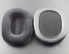 Black Velour Ear Pads Cushion For Audio technica ATH-M50 M50S M50X M40 M40S M40X