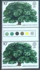 GB TRAFFIC LIGHT GUTTER PAIR FINE UNMOUNTED MINT. 1974 TREE CAT £65