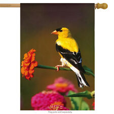 Goldfinch Spring House Flag