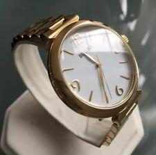 Ladies Genuine Bulova 97L139 Gold Large Designer Watch White