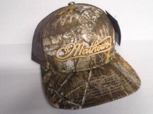 "@NEW@ 2021 Mathews ""Realtree Edge"" Hat/Cap camo archery compound bow hunting"