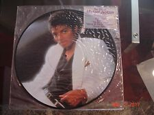 The Official Michael Jackson Thriller Picture Disc Vinyl Record LP Columbia