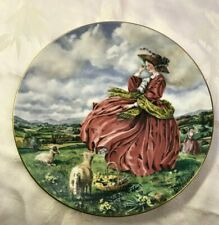 Royal Doulton Plate Collectors Club Top O The Hill plate