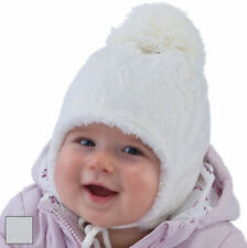 Polyester Patternless Baby Hats