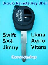 Suzuki 2 Button Remote Key Shell to Suit Swift SX4 Liana Aerio Vitara Jimny