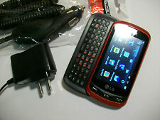 GREAT! LG Xpression C395 RED Touch Camera QWERTY Bluetooth GSM Slider AT&T Phone