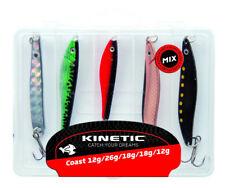 KINETIC 5er Multipack - Meerforellen- und Pilker-Set I, Meerforellenblinker