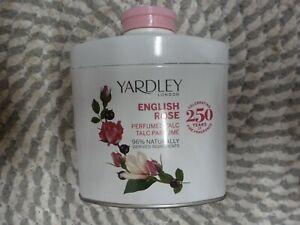 YARDLEY~~ENGLISH ROSE~~PERFUMED TALC 1.7 OZ SEALED!
