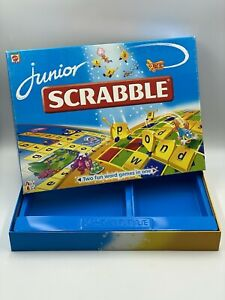 Junior Scrabble Empty Game Box Replacement Spare 51319 Genuine Mattel 1999