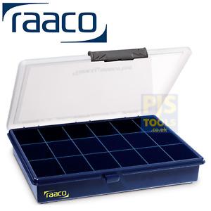 Raaco 136167 A5 18 fixed compartment assorter component case box