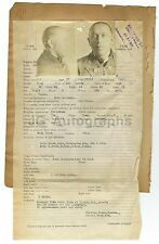 Wanted Posters - 2 Vintage Wanted Posters - Arkansas State Penitentiary - 1924