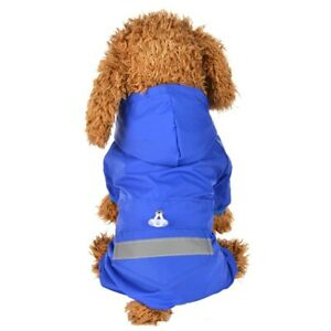 Waterproof Dog Clothes Puppy Raincoat Pet Fashion Doggie Warm OutdoorJacket