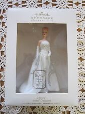 Hallmark Keepsake BARBIE ORNAMENT 2007 JOYEUX Fashion Model Club Porcelain MIB