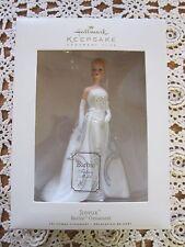 Hallmark Keepsake BARBIE ORNAMENT 2007 JOYEUX Fashion Model Club Porcelain MIB