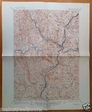 HANOVER VT Connecticut River HARTFORD Hartland VERMONT VINTAGE TOPOGRAPHICAL MAP