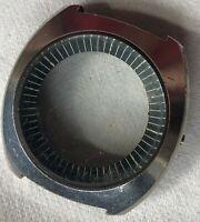 Caliber 11 chronograph mens wristwatch steel case 43,5 mm. in diameter