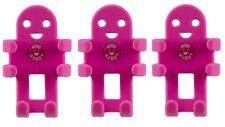 (Lot of 3) Hug Buddy Pink - High Quality Flexible Mobile Phone Car Mount Holder