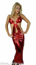STRIPPER DANCER ADULT INTIMATE EXOTIC EROTIC GOWN LONG DRESS 6 8 10 12