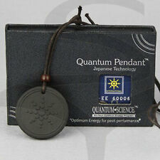Quantum Pendant Scalar Bio-Energy Necklace 5000-6000 neg negative ions + Card
