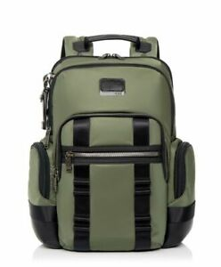 New Tumi Alpha Bravo Norman Backpack Bag FOREST GREEN $395