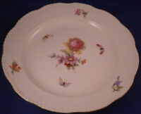 Antique 20tC KPM Berlin Porcelain Plate Royalty Monogram Porzellan Teller Kaiser