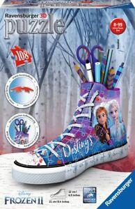 NEW Ravensburger - Frozen 2 Sneaker 3D Sneaker 108Pc from Mr Toys