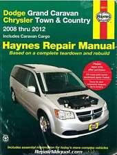 Dodge Grand Caravan Chrysler Town Country Van 2008-2012 Haynes Car Repair Man...