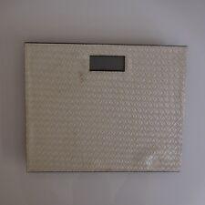 Pèse-personne scale QC PASS vintage XXe art déco design PN France