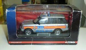 CORGI 1:43 SCALE VANGUARDS POLICE CAR - RANGE ROVER MET POLICE SPECIAL ESCORT