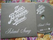 Zac Brown Band Island Song Atlantic ROAR Southern Ground UK Promo CD Single