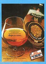 QUATTROR983-PUBBLICITA'/ADVERTISING-1983- VECCHIA ROMAGNA ETICHETTA NERA (A)