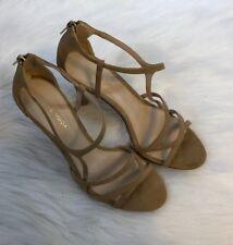 Pelle Moda Ruby Heels - Women's Size 7 M, Suede Sand NWOT