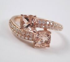 04640bf94fe57 Morganite Rose Gold 14k Fine Rings for sale | eBay
