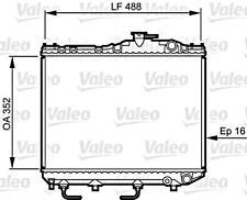 VALEO Engine Cooling Radiator Fits TOYOTA Tercel Hatchback 1979-1988
