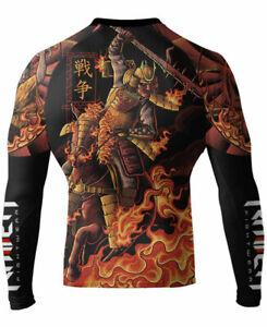 Raven Fightwear Men's Horsemen of the Apocalypse War Samurai Rash Guard