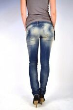 MELTIN POT Jeans MONIE Super-Slim Röhre BD419 Größe 29/32