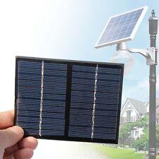 1.5W 12V Mini panneau solaire D·Y modèles Powered Small Module Epoxy Chargeur D·