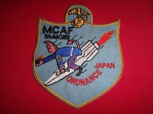USMC Patch Marine Corps Air Facility ORDNANCE Group At IWAKUNI JAPAN