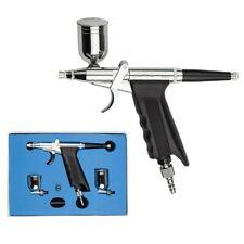 0.3mm Nozzle Airbrush Spray Gun Dual-Action Trigger Air-paint Control Sprayer