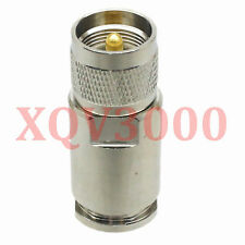 1pce Connector PL259 UHF male plug pin clamp for LMR600 RF COAXIAL