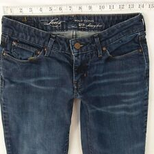 Ladies Womens Levis DEMI CURVE SKINNY BOOTCUT Stretch Jeans W28 L28 UK Size 8