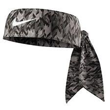 New Women Nike Printed Head Tie 2.0 Headband Tennis Running Basketball Bone Grey
