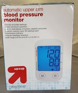 Up & Up Automatic Upper Arm Blood Pressure Monitor