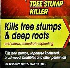 Tree Stump killer - Job Done - Super Strength - Sachets