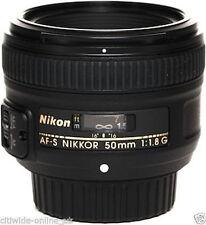 Nikon NIKKOR AF-S 50mm F/1.8G Lens Objektiv