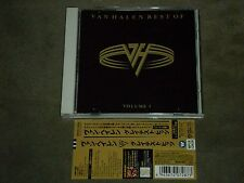 Van Halen Best Of Volume 1 Japan CD Bonus Track