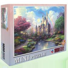 Jigsaw Puzzles for Adults 1000pcs Castle Rainbow Fantasy Fairy Tale Landscape